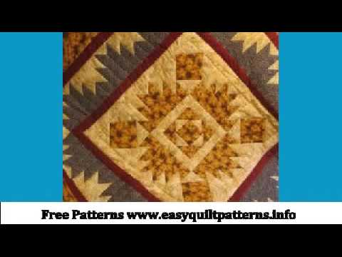 Easy Quilting Designs Large Bear Paw Quilt Pattern Youtube