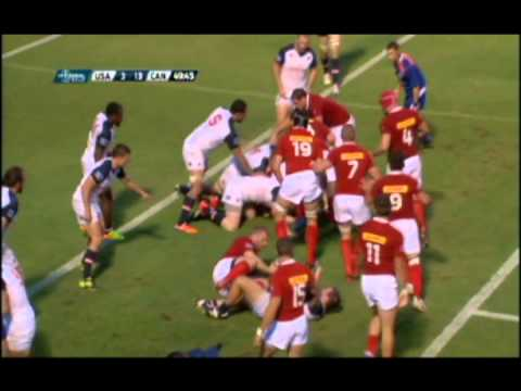 Canada vs USA Rugby World Cup Qualifier Highlights