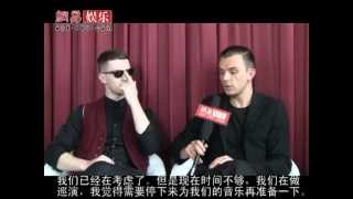 Hurts  exklusives Interview mit Entertainment Netease 2011-05-15 China