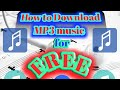 How to download  MP3 music using free data (TAGALOG)
