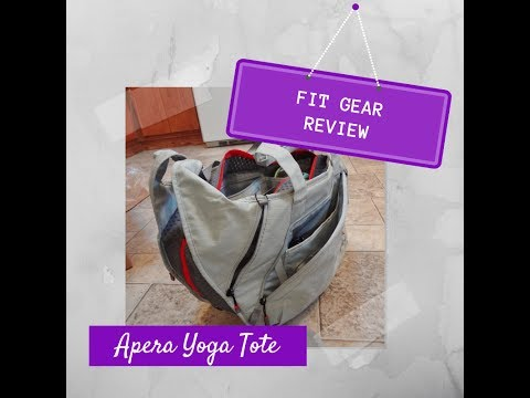 FitGear Review: Apera Yoga Tote Gym Bag