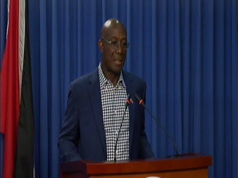 Prime Minister Dr. Keith Rowley's Media Conference On COVID-