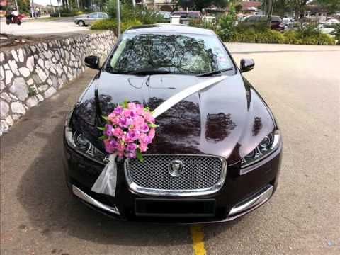 Wedding car decorations Do it yourself - YouTube