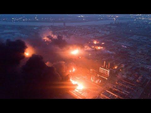 مقتل 47 وإصابة 640 في انفجار بمصنع كيماويات في الصين  - نشر قبل 2 ساعة