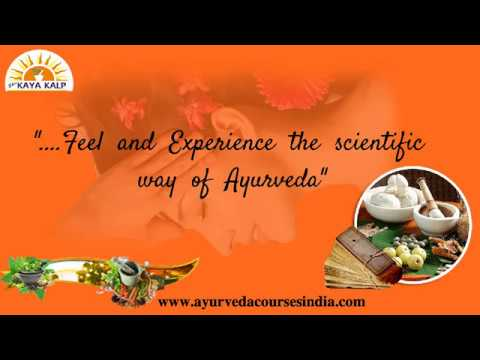 Ayurveda Training Institute In India | Ayurveda Courses In India |  Ayurvedic Therapy In India