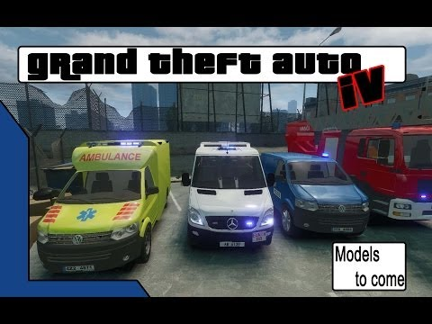 GTA 4 Models that I soon will make livery's for