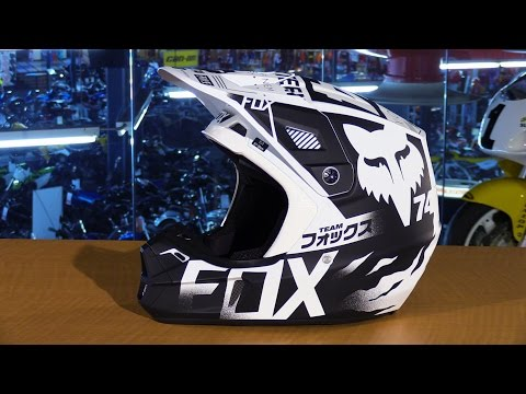 Fox Racing 2016 V2 Union Motorcycle Helmet Review