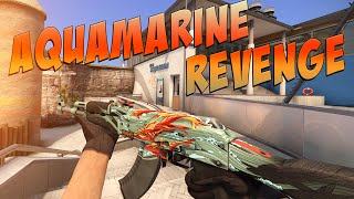 CS:GO - AK-47 | Aquamarine Revenge Gameplay