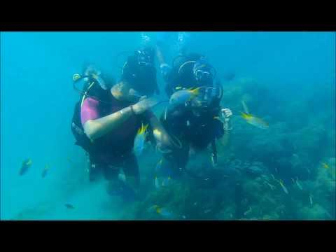 Scuba diving at Havelock Andaman