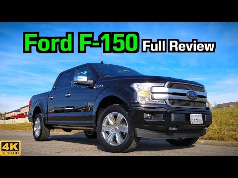 2019 Ford F-150 Platinum: FULL REVIEW + DRIVE | More Updates to the Truck King!