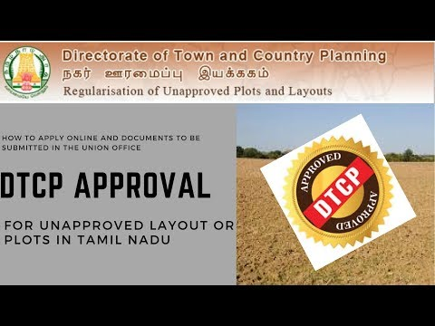 DTCP/CMDA Approval For Unapproved Layout or Plots in Tamil Nadu  How to Get DTCP Approval?