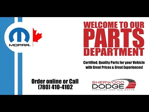 OEM Dodge Chrysler Jeep Ram Parts in Edmonton, MOPAR parts