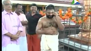 sabarimala melsanthi, News@11, 18 10 2014,Jaihind TV