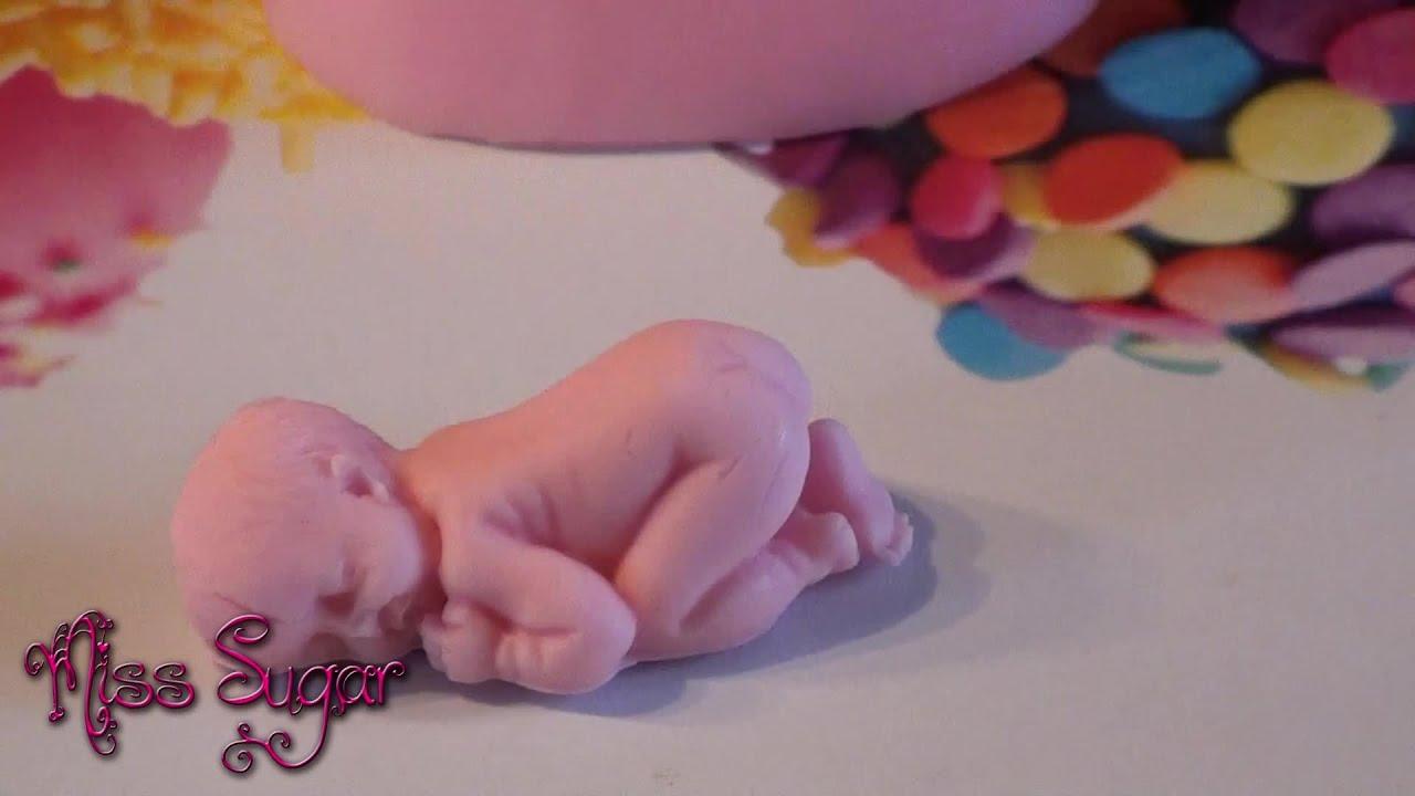C mo hacer un beb de fondant youtube - Como hacer un cambiador para bebes ...