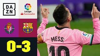 Messi bricht Torrekord - Barca zurück in der Spur: Valladolid - FC Barcelona 0:3 | LaLiga | DAZN