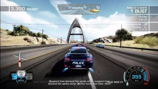 """Need For Speed: Hot Pursuit - """"Sting in the Tail"""" Achievement/Trophy"""