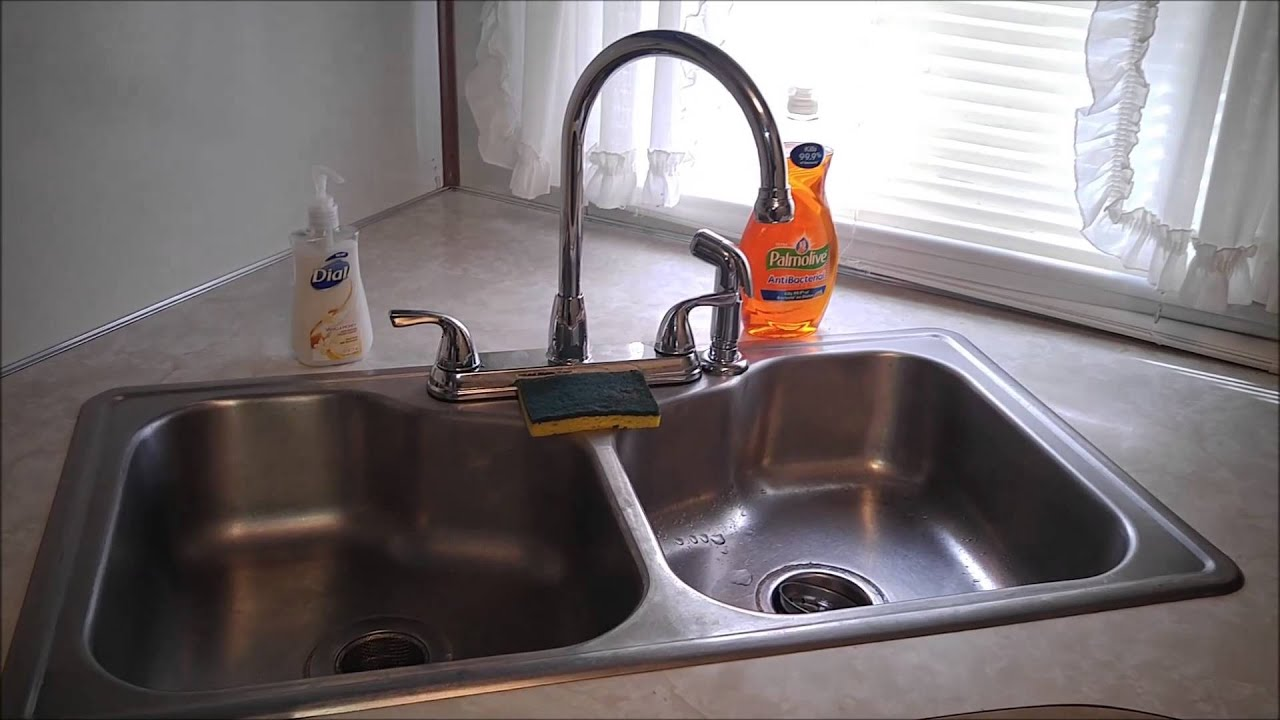 That Old Trailer Life Kitchen Faucet upgrade - YouTube