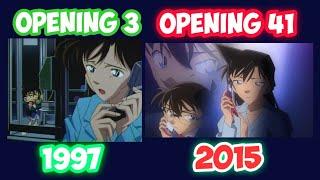 Detective Conan (Nazo) [Miho Komatsu & La PomPon] (OPENING 03 & OPENING 41) 1997 & 2015