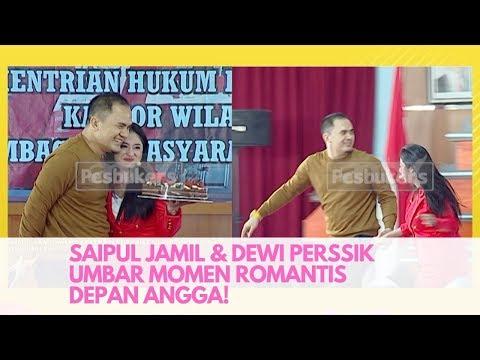 Saipul Jamil dan Dewi Perssik Umbar Momen Romantis Depan Angga! | Pesbukers