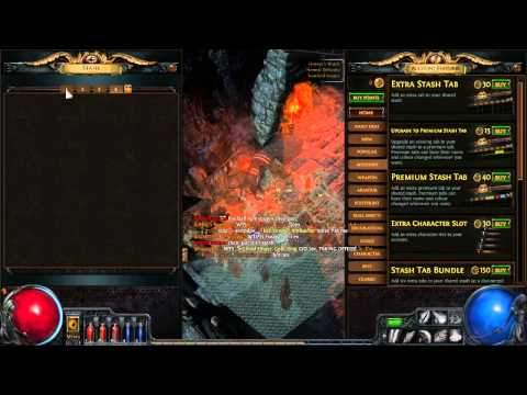 Path of Exile Gameplay: The Witch part 2