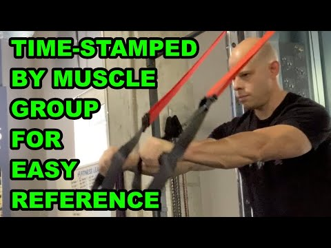 Full Library of Suspension Training Exercises For Building Muscle and Strength