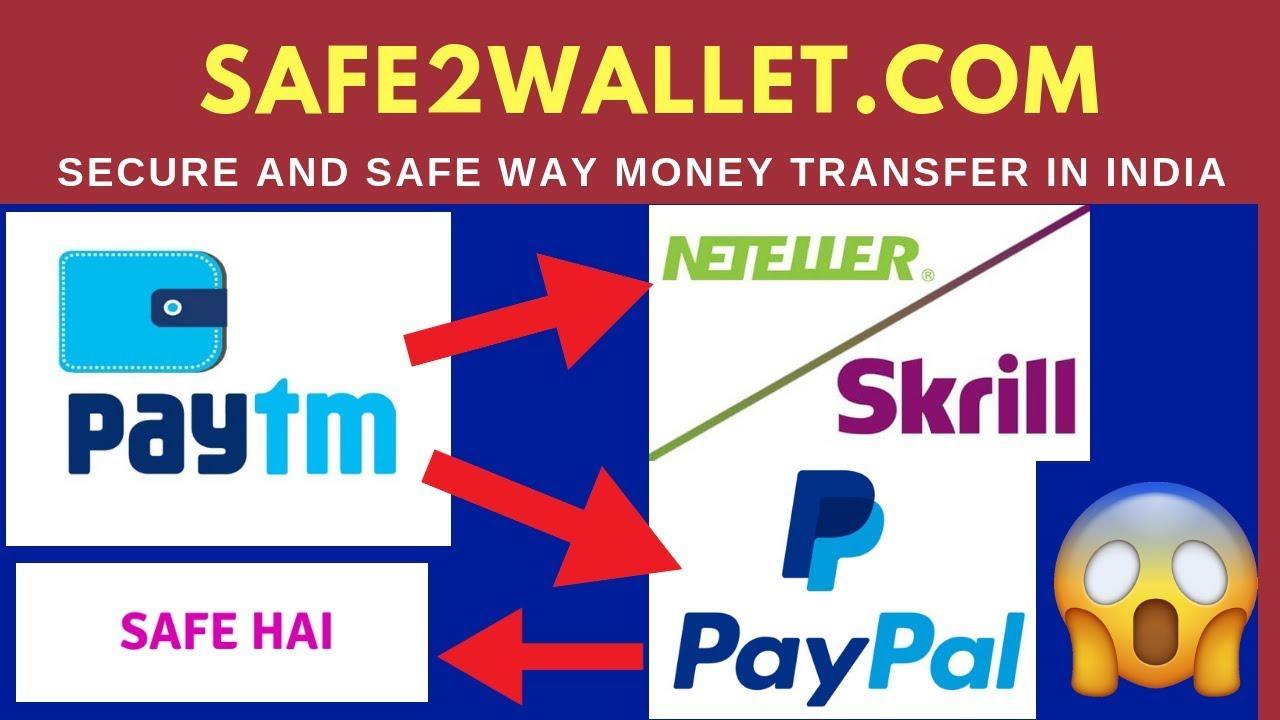 Skrill, Neteller and Paypal money deposit safe way/Namecheap Domain Buy