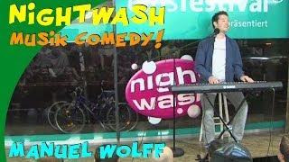 Nightwash Comedy Show: Manuel Wolff Pachelbel Musikkabarett!