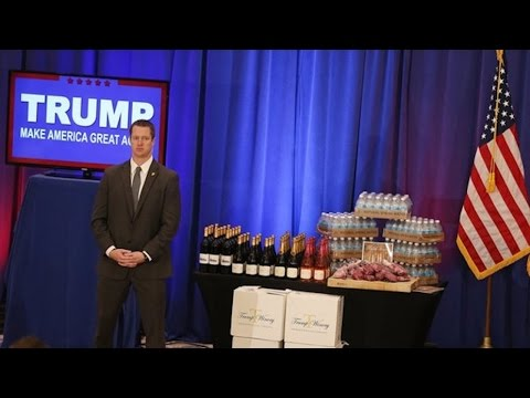Trump Pretends To Sell Phony Products In Victory Speech/Infomercial