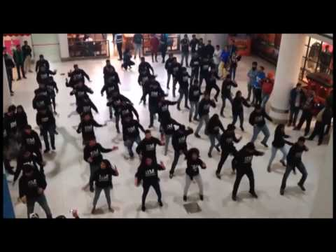 Flash mob by students of IIM Amritsar at AlphaOne Mall, Amritsar