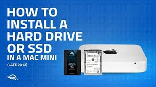 Mac mini Late 2012 Hard Drive/SSD Installation Video