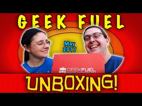 Thumbnail: UNBOXING! Geek Fuel May 2017 - #Marvel #Funko