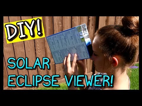 How To Make A Solar Eclipse Viewer | ONLY 2 MINUTES!!