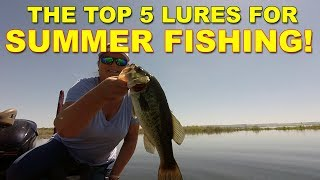 5 Best Lures For Summer Bass Fishing | Bass Fishing