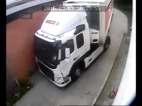 Spar Lorry Side of the house