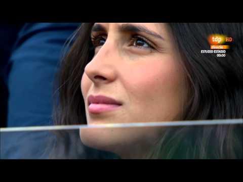 Nadal-Youzhny Family watched the match Internazionali BNL D'Italia 2014 Rome
