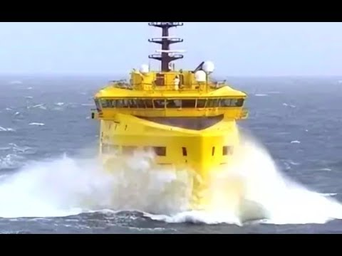 Top 10 Large Special Multipurpose Ships Floating On Waves