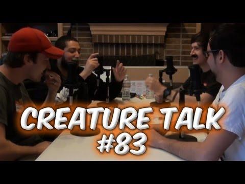 """Creature Talk Ep83 """"Mustache Talk"""" 9/15/13 Video Podcast"""