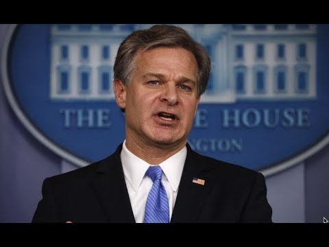 🚨URGENT Press Conference at the Department of Justice with FBI Director Wray