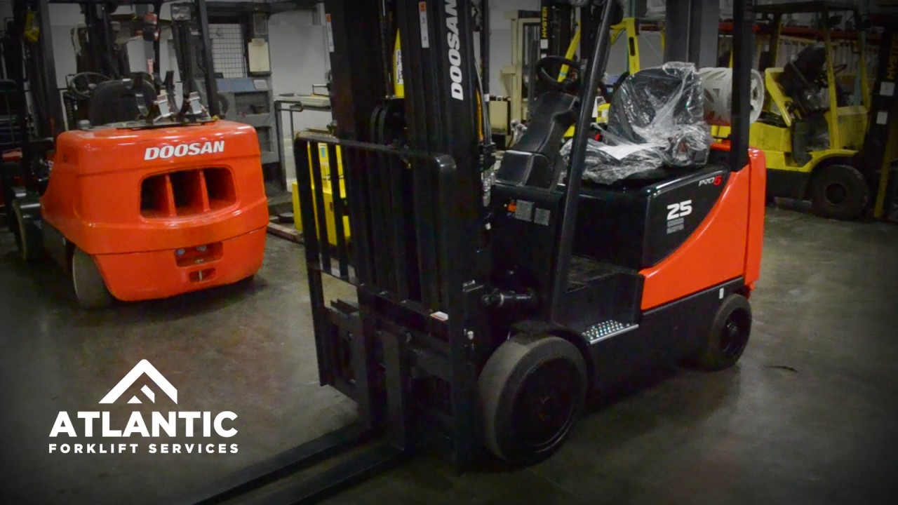 How to Properly Check Forklift Fluid - YouTube Toyota Forklift Wiring Diagram Electronic Mask on