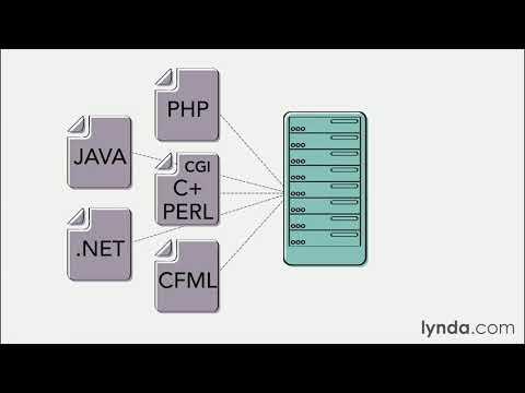 Web technology tutorial: Server-side scripting | lynda.com