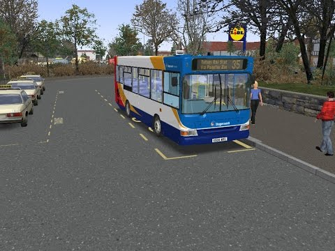 omsi 2 buses of the West Country route 35 to Totnes Rail Stat