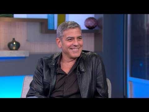 George Clooney Discusses the Other World of 'Tomorrowland'