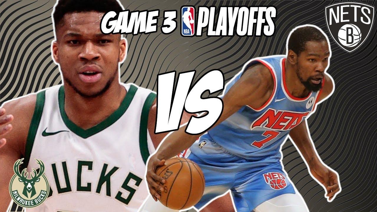 2021 NBA Playoffs: Nets vs. Bucks odds, line, picks, Game 3 ...