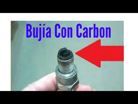 Porque se mojan las bujias con gasolina