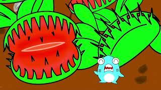 モンスター植物に食べられた?!サメニンとハエの冒険!ラフレシアを見に行こう!