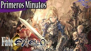 Fate/Extella: The Umbral Star - Primeros minutos en Español: El poder de los Servant!! (PS4) 60fps