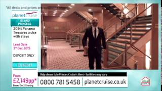 Planet Cruise TV Show Princess Cruise 08/05/15 | Planet Cruise