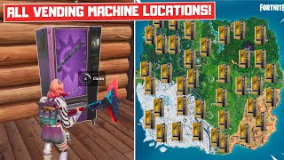 All FREE Vending Machine Locations in Fortnite Battle Royale! - Season 8