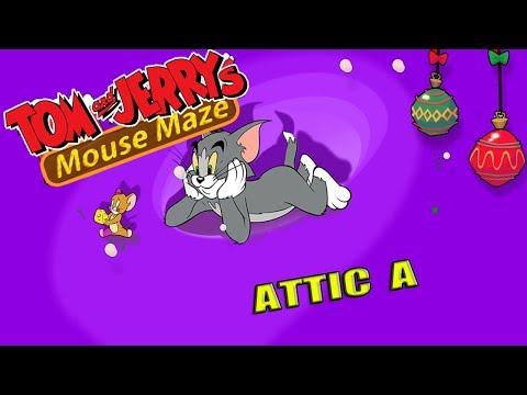 Tom And Jerry - Mouse Maze Attic A. Fun Tom And Jerry 2019 Games. Baby Games  #littlekids