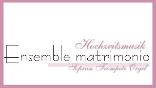 Hochzeitsmusik - HOCHZEITSMARSCH, Richard Wagner - Trompete & Orgel (Musik zur Trauung)